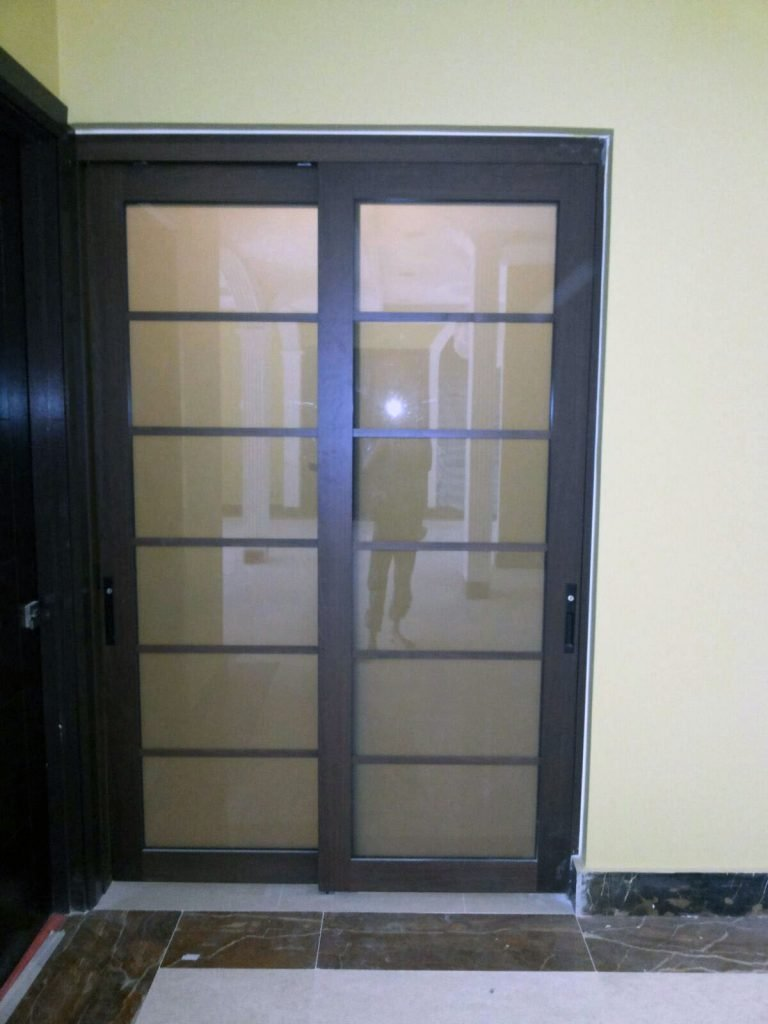 Hanging Sliding Door Proscreen Fine Glass